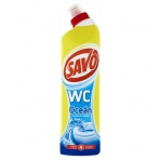 SAVO WC Gel 750 ml, Ocean