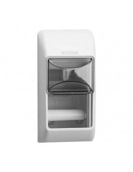 Zásobník na kotoučový toaletní papír KATRIN 2 roll, bílý