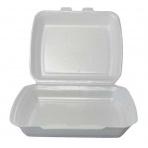 Menu box ECONOMY bílý, 2 - dílny, 125 ks /balení