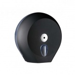 Zásobník toaletního papíru JUMBO 28 COLORED, černý