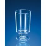 Kelímek krystal na stopce 0,1 l, 15 ks/balení