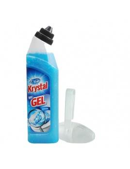Gel WC KRYSTAL 750 ml na doplnení s košíkem
