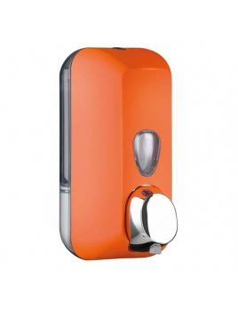 Dávkovač mýdla COLORED 550 ml, oranžový, na dolévaní
