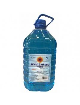 Mýdlo tekuté FRESH 5 000ml, modré