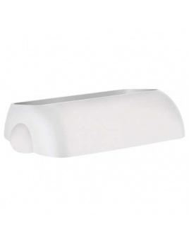 Veko na plastový koš COLORED, bílý