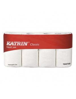 Toaletní papír KATRIN CLASSIC bílá, recyklát, 2vr., 24 m