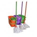Kbelík WET mop set 12 l, ovlány, různe barvy