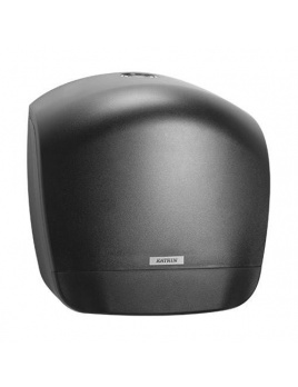 Zásobník toaletního papíru JUMBO 28 KATRIN, černý, plastový
