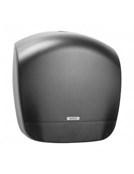 Zásobník toaletního papíru JUMBO 19 KATRIN, černý plastový
