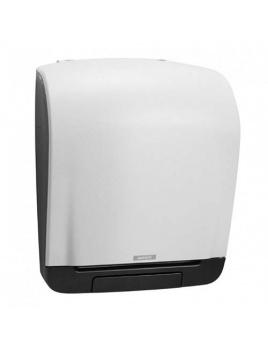 Zásobník na papírové rolky KATRIN SYSTEM, mechanický, bílý