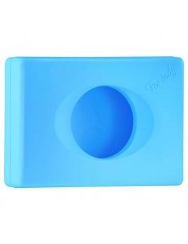Zásobník na hygienické sáčky COLORED,modrý