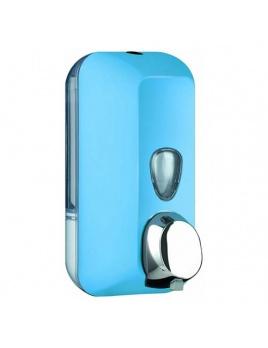Dávkovač mýdla COLORED 550 ml, modrý, na dolévaní