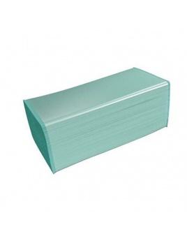 Ručníky papírové skládané 1vr., V BASIC zelený, KAMIKO, 5 000 ks