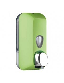 Dávkovač mýdla COLORED 550 ml, zelený, na dolévaní