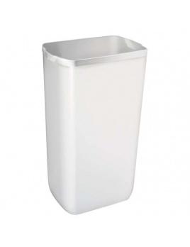 Koš plastový COLORED 23l, bílý