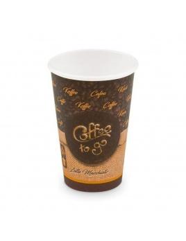 Kelímek papírový COFFE 2 GO 0,28 l, 50 ks/balení