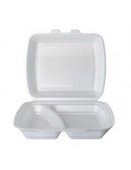 Menu box ECONOMY bílý, nedelený, 125 ks /balení