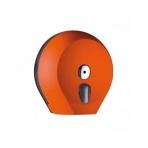 Zásobník toaletního papíru JUMBO 28 COLORED, oranžový