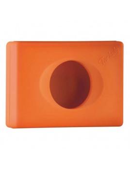 Zásobník na hygienické sáčky COLORED, oranžový